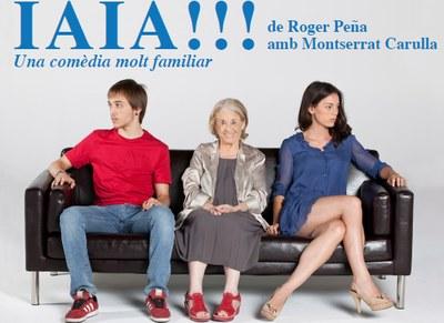 """Exhaurides les entrades per a veure a Moja l'obra """"Iaia!"""", amb Montserrat Carulla"""