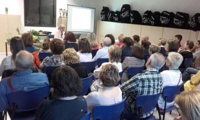 """Èxit de la xerrada """"Diversitat alimentària i nous hàbits"""", convocada divendres per l'Ateneu Mogenc"""