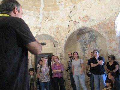 Èxit de participació en les visites guiades al Sant Sepulcre