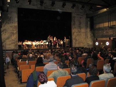 Èxit rotund del concert de Sant Macari en solidaritat amb Ian Garcia