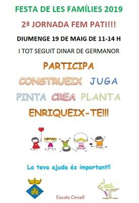 Festa de les Famílies a l'escola Circell de Moja aquest diumenge