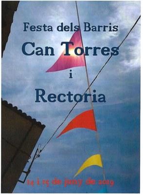 Festa dels barris de Rectoria i Can Torres aquest divendres i dissabte