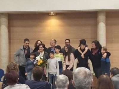 Fina Lorenzo repassa la seva meritòria vida emprenedora en la commemoració a Olèrdola del Dia de la Dona