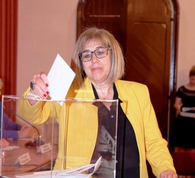 Fina Mascaró, consellera comarcal d'ERC, continuarà vinculada a la Comissió Informativa d'Atenció a les Persones al Consell Comarcal de l'Alt Penedès