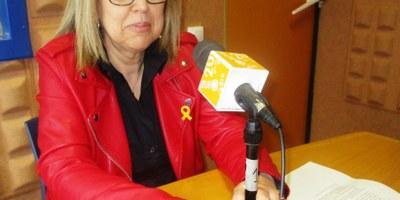 Fina Mascaró està predisposada a repetir com a candidata d'ERC a l'alcaldia d'Olèrdola