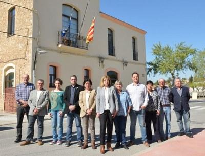 Fina Mascaró, M.Antònia Pajuelo i Lydia Girona repeteixen en les tres primeres posicions de la candidatura d'ERC a Olèrdola