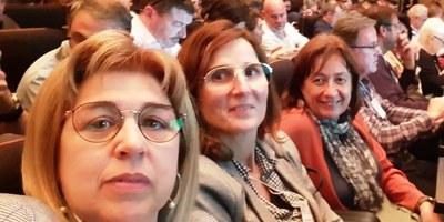 Fina Mascaró, regidora portaveu d'ERC d'Olèrdola, ha participat aquest dimecres en la constitució de l'Assemblea de Càrrecs Electes de Catalunya
