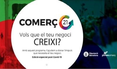"""Fins el 7 de juny es poden presentar sol·licituds per participar en el projecte """"Comerç 21"""""""