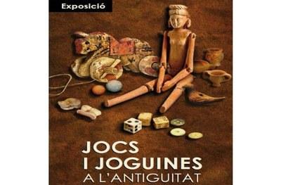 """Fins el 26 d'agost es pot visitar a Olèrdola l'exposició """"Jocs i joguines a l'antiguitat"""""""