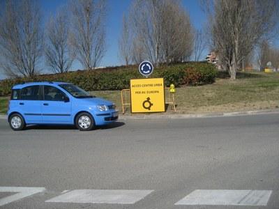 Fins el 27 de febrer està tallat l'accés a Vilafranca des de la carretera de Moja