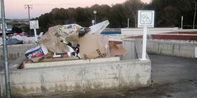 Fins el 31 de gener es pot sol·licitar la bonificació de la taxa d'escombraries per ús continuat de la deixalleria