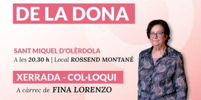 Fins el 4 de març es poden adquirir els tiquets per participar en el sopar de commemoració a Olèrdola del Dia de la Dona