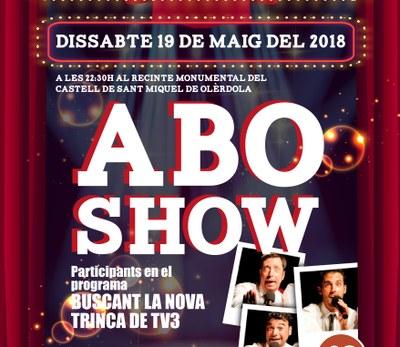"""Gags d'humor i cançons de La Trinca a la Trobada d'Olèrdola amb """"ABO Show"""""""