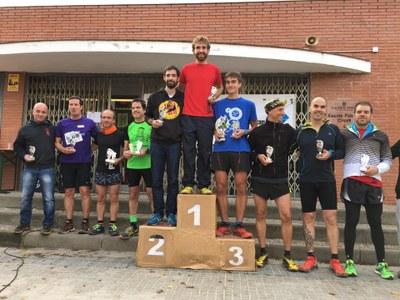 La classificació d'atletes locals l'encapçalava Jordi Gómez