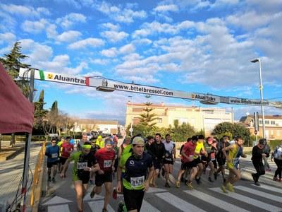 Gerard Gil i Raquel Merchan guanyen la 19a cursa Pujada al Castell d'Olèrdola