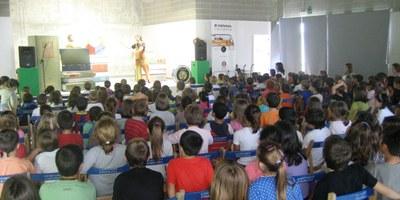 """Gràcies al Bibliobús arriba a les escoles d'Olèrdola """"El pirata Tastacirc"""""""