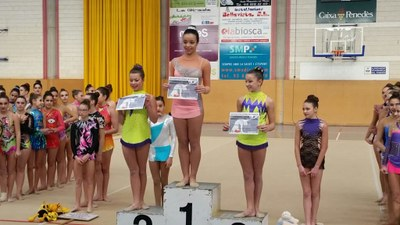 Grans resultats del Rítmica Olèrdola en els Jocs Esportius Escolars