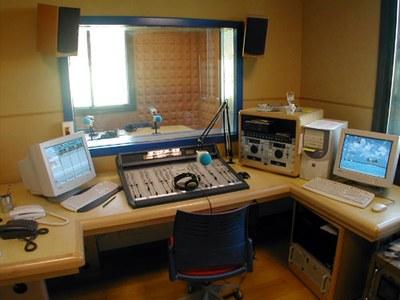 Estudis de la ràdio, al Centre Cívic La Xarxa