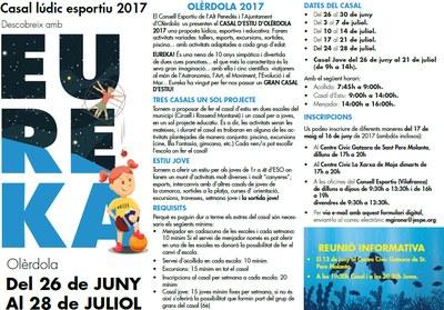 Inscripcions obertes al Casal d'Estiu d'Olèrdola fins el divendres 16 de juny
