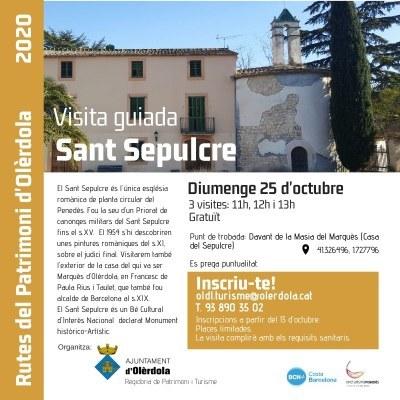 Inscripcions obertes per a una nova visita guiada gratuïta al Sant Sepulcre