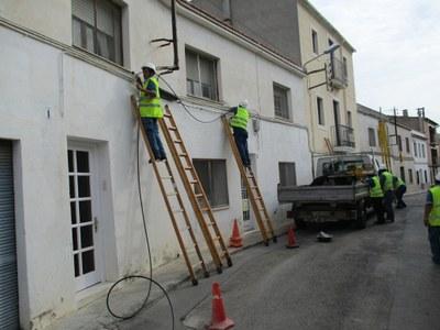 Ja es contracta fibra òptica a Sant Miquel i aquest febrer també es podrà fer a Moja i Sant Pere