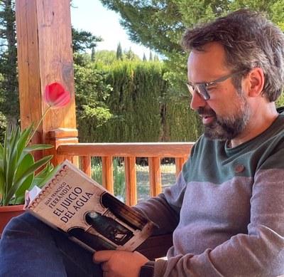 """Juan Francisco Ferrándiz ambienta a Olèrdola part de la novel·la històrica """"El judici de l'aigua"""""""