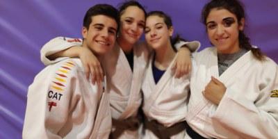 Júlia Queraltó,  Aira Lázaro i Irene Romero, del Judo Olèrdola, participaran en la Copa d'Europa cadet