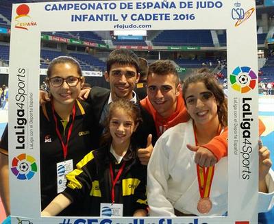 Júlia Queraltó assoleix el bronze en el campionat d'Espanya de judo en categoria infantil