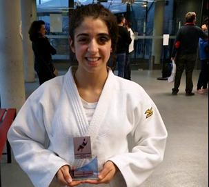 Júlia Queraltó, del Judo Olèrdola, es proclama campiona de Catalunya en categoria infantil