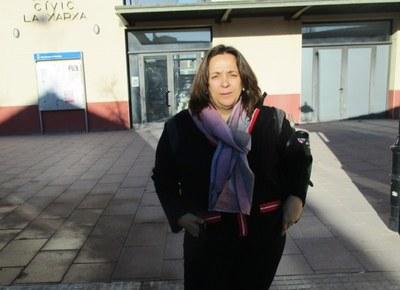 Mari Carme Villanueva, candidata a l'alcaldia encapçalant la llista de Junts per Olèrdola