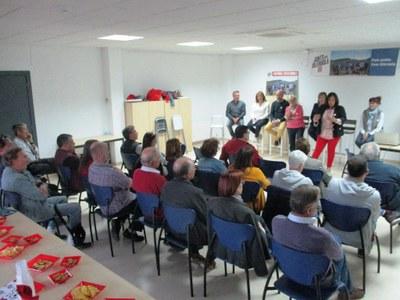 Acte de Junts per Catalunya aquest dimarts a Sant Pere Molanta