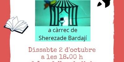 """L'actriu i narradora Sherezade Bardají portarà dissabte 2 d'octubre a Moja el seu espectacle """"El coet invisible, contes per volar"""""""