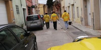 L'ADF continuarà realitzant durant els propers dies tasques de suport a serveis municipals