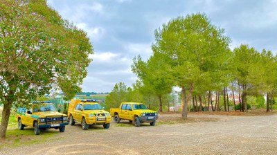 L'ADF realitza  la franja de protecció contra incendis forestals a Sant Miquel
