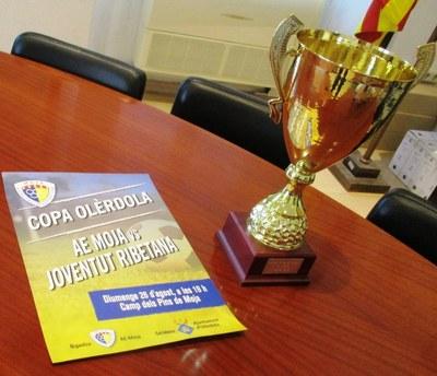 L'AE Moja i la Joventut Ribetana es disputaran aquest diumenge la 31a Copa Olèrdola
