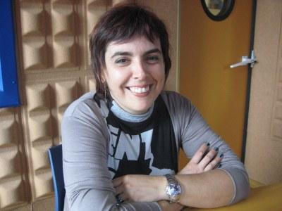 Eva Ruiz, regidora d'urbanitzacions de l'Ajuntament d'Olèrdola