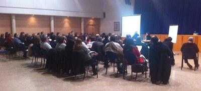 El mes de febrer l'Ajuntament convocava una altra sessió informativa per a entitats