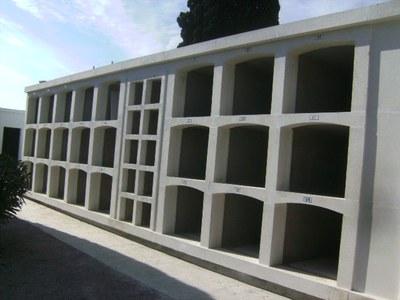 L'Ajuntament d'Olèrdola amplia el cementiri de Moja amb 24 nínxols nous i 10 columbaris