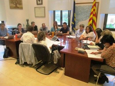 L'Ajuntament d'Olèrdola aprova una moció reclamant la llibertat dels presos polítics