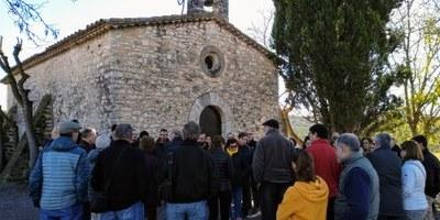 L'Ajuntament d'Olèrdola continua amb una visita guiada a Viladellops les rutes pel patrimoni del municipi