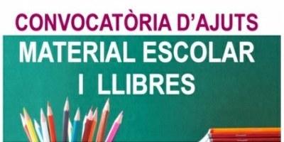 L'Ajuntament d'Olèrdola convoca ajuts per a l'adquisició de material escolar pel curs 2019-20