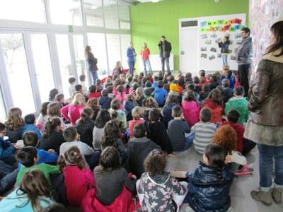 L'Ajuntament dóna suport a l'escola de Sant Pere Molanta pel foment de l'aprenentatge d'idiomes