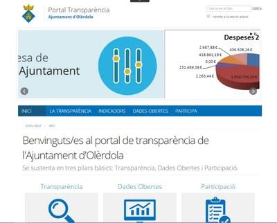 L'Ajuntament d'Olèrdola és pioner en transparència entre els municipis de menys de 5.000 habitants