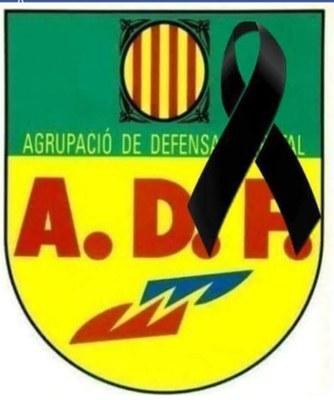 L'Ajuntament d'Olèrdola expressa el seu condol per la mort d'un voluntari de l'ADF d'Avinyonet