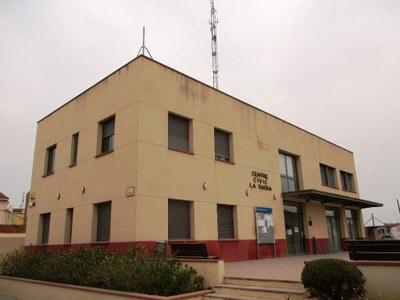 Centre Cívic La Xarxa, actual seu temporal de l'Ajuntament d'Olèrdola