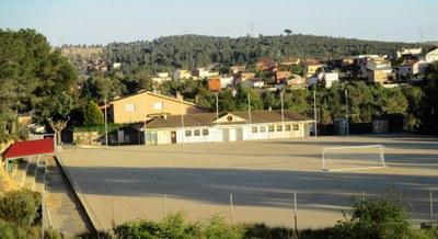 L'Ajuntament d'Olèrdola ha invertit 6.000 euros en dos anys al camp de futbol de Sant Miquel