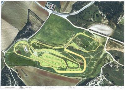 L'Ajuntament d'Olèrdola habilitarà un circuit estable de running a la Muntanyeta