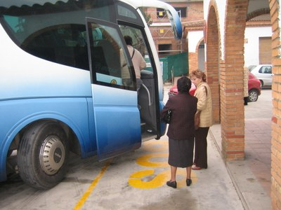 Imatge d'arxiu del bus a Moja