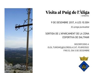 L'Ajuntament d'Olèrdola organitza una sortida al Puig de l'Àliga pel dissabte 9 de desembre