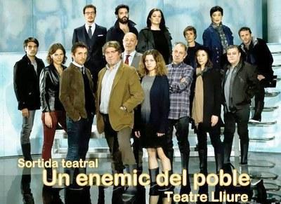 """L'Ajuntament d'Olèrdola organitza una sortida teatral per anar a veure """"Un enemic del poble"""""""